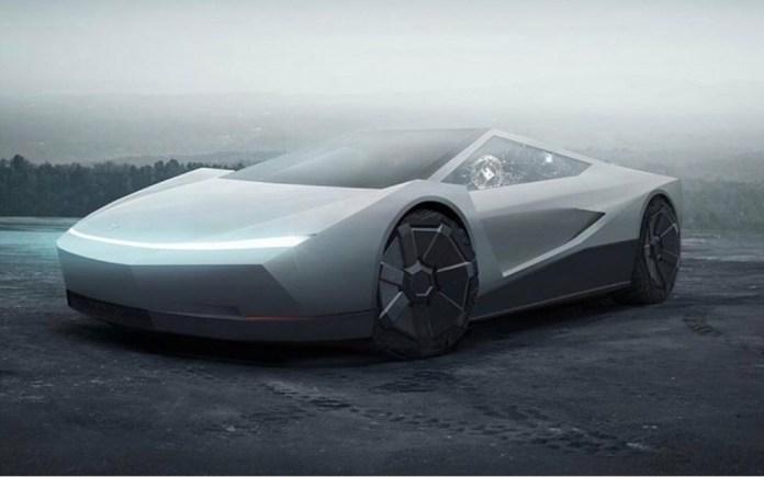 Tesla Roadster Re Imagined In Cybertruck Guise The Car Guide