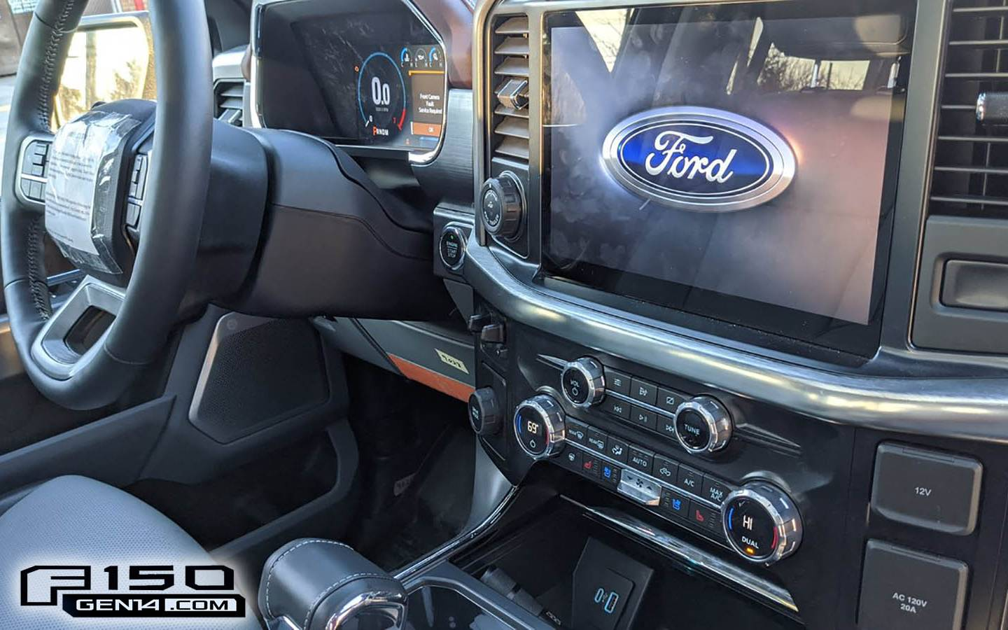 How much interior passenger space is featured in the 2021 ford. An Unofficial First Look At The 2021 Ford F 150 Interior The Car Guide