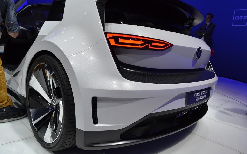 Volkswagen Golf Gte Sport Concept Lands In North America