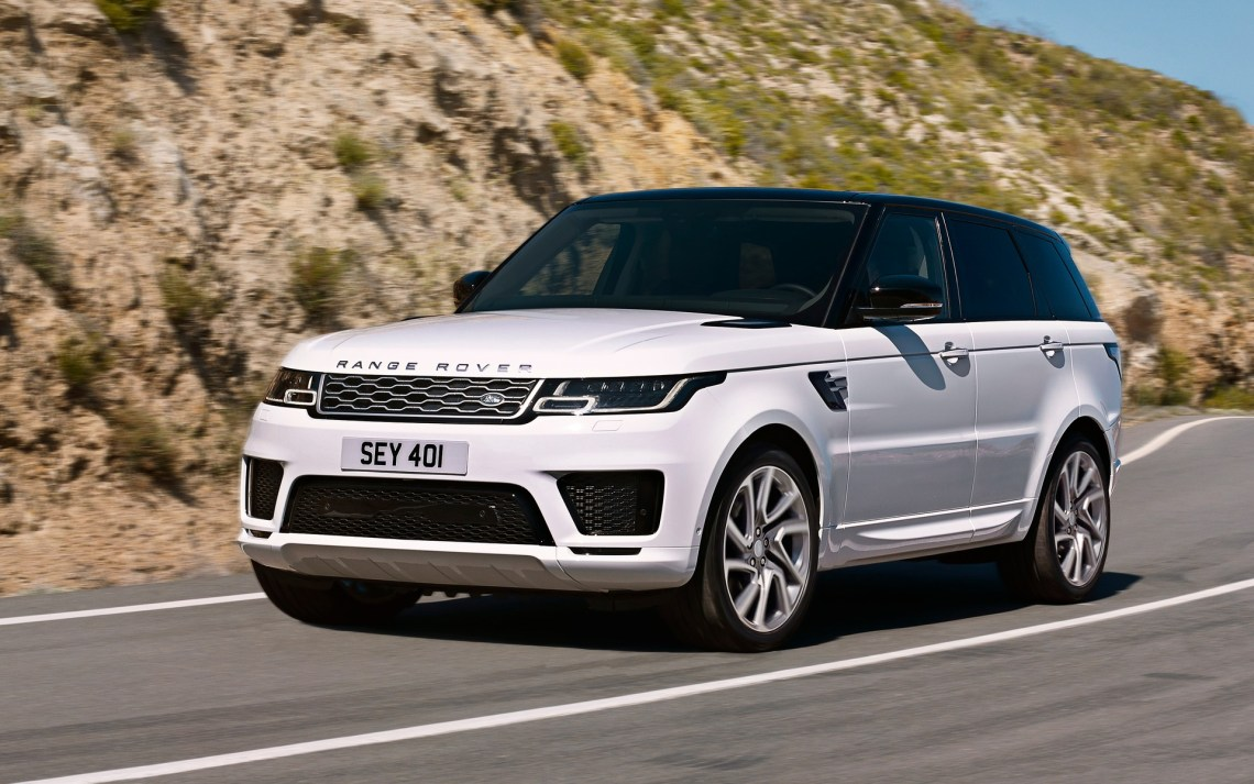the range rover sport gets a plug-in hybrid version for 2019 - the