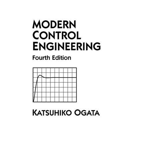 Modern Control Engineering by Katsuhiko Ogata — Reviews