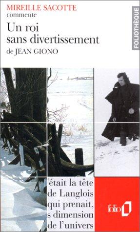 Jean Giono Un Roi Sans Divertissement : giono, divertissement, Divertissement, Giono, Mireille, Sacotte