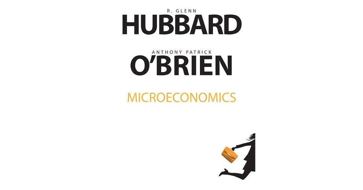 Microeconomics by R. Glenn Hubbard