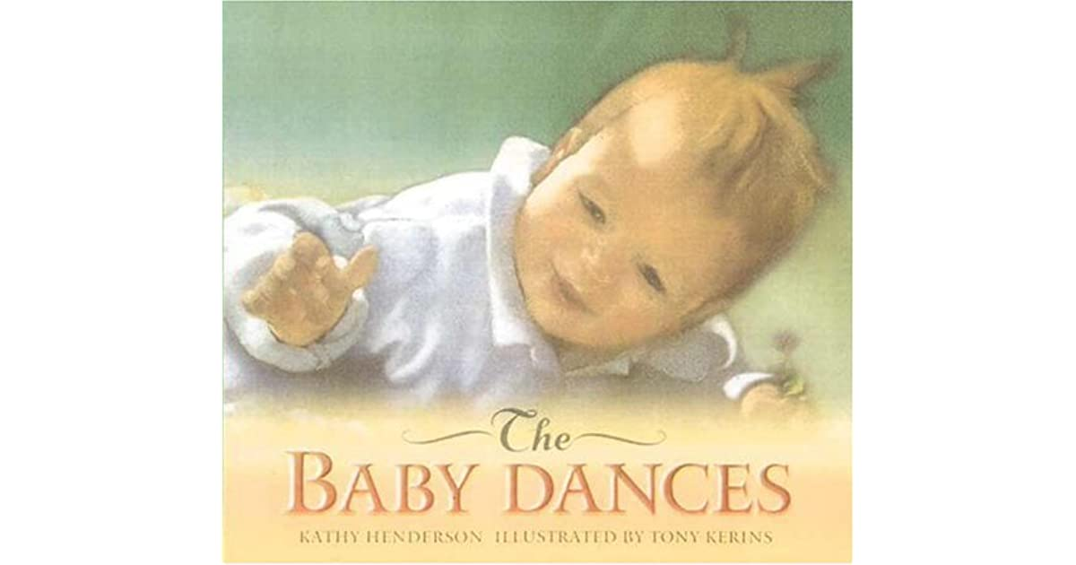 the baby dances by