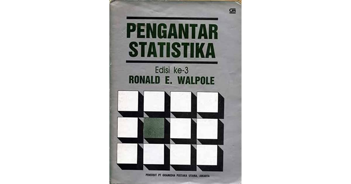Tabel statistik t sudjana bing. Kunci Jawaban Pengantar Statistika Walpole Edisi 3 Pdf