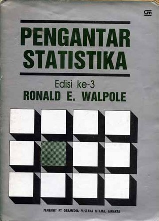 Download Buku Statistika Pdf : download, statistika, Pengantar, Statistika, Edisi, Ronald, Walpole