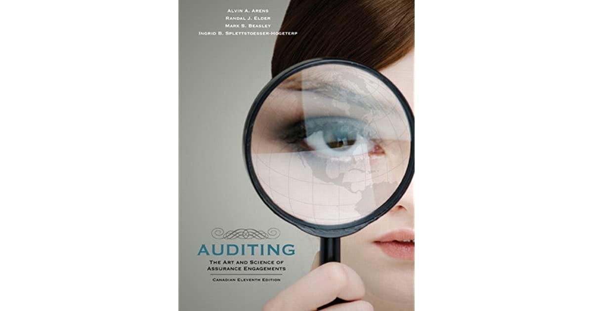 An audit is a formal process of looking closely at the processes of a company and seeing how it can improve. Auditing: The Art and Science of Assurance Engagements by