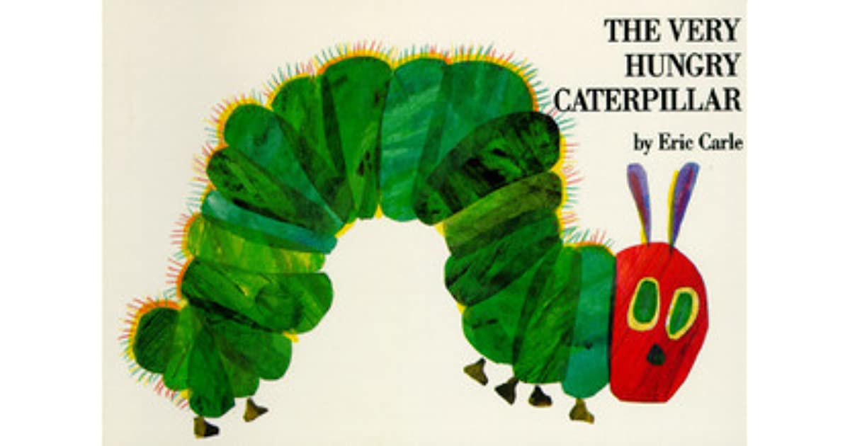 Hungry Caterpillar Book Cover