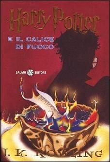 Harry potter e il calice di fuoco Book Cover