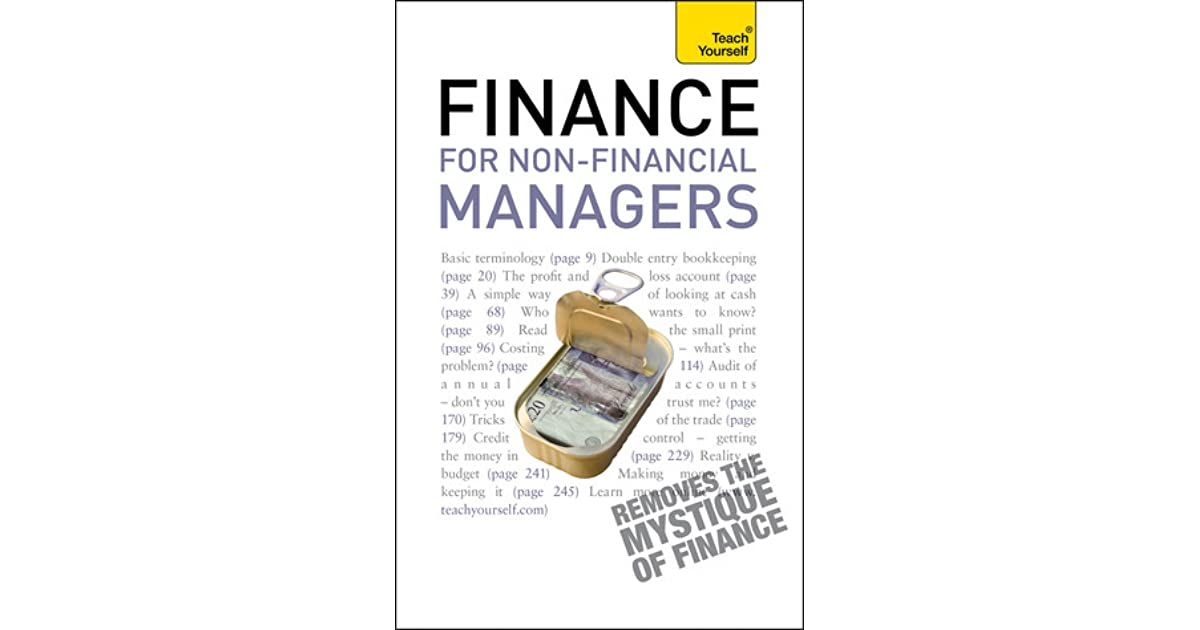 Finance for Non-Financial Managers by Philip Ramsden