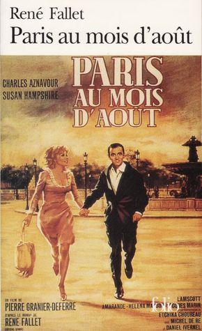 Paris Au Mois D'aout Film : paris, d'aout, Paris, D'août, René, Fallet