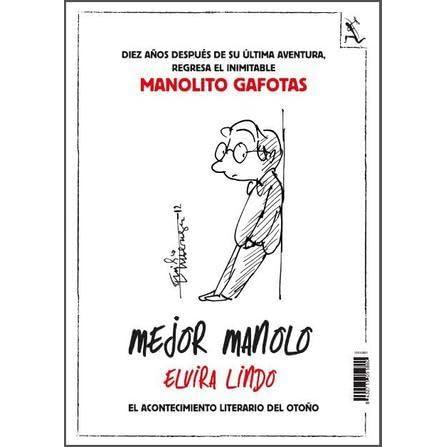 Mejor Manolo (Manolito Gafotas, #8) by Elvira Lindo