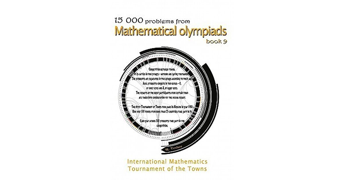 15 000 Problems From Mathematical Olympiads Book 9