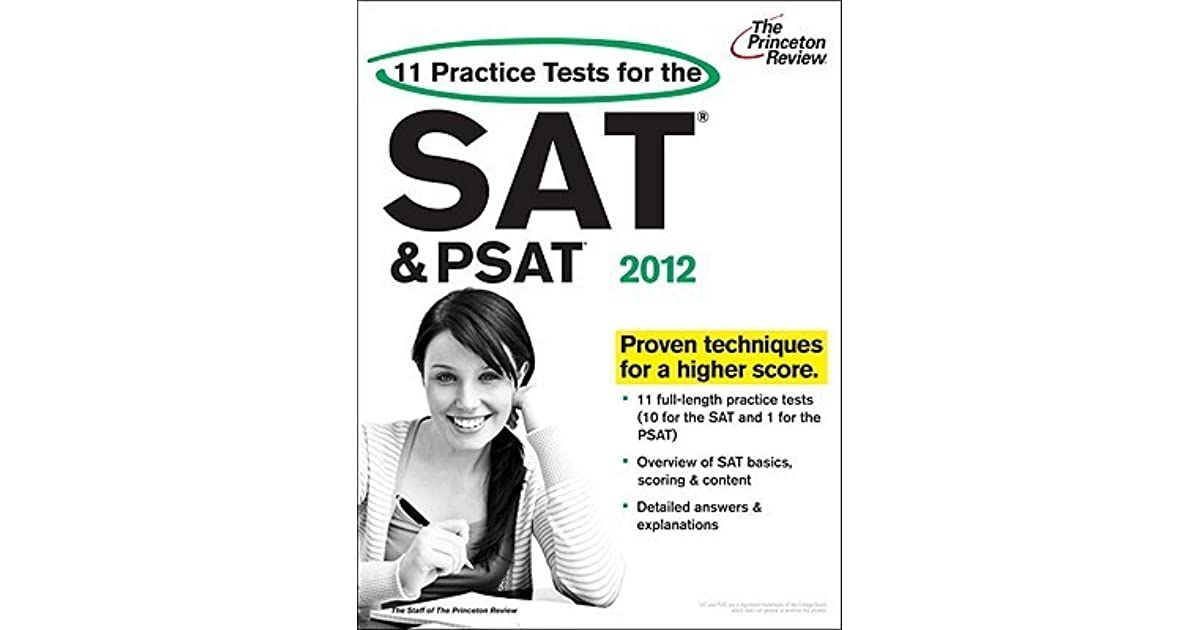 11 Practice Tests for the SAT and PSAT, 2012 Edition by
