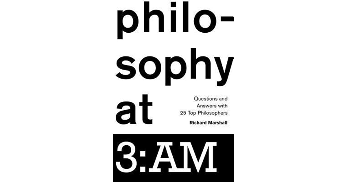 Philosophy at 3: Am: Questions and Answers with 25 Top