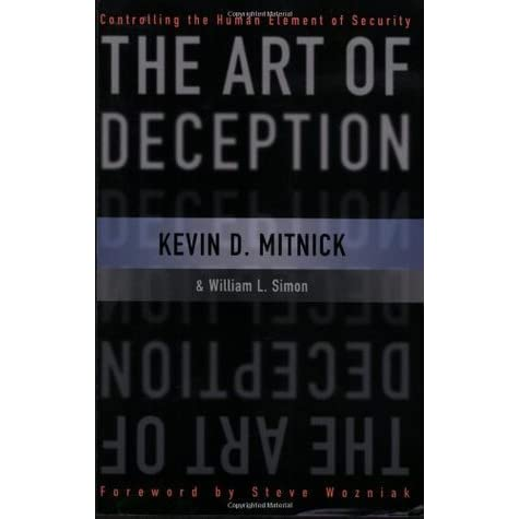 The Art Of Deception Controlling The Human Element Of Security By