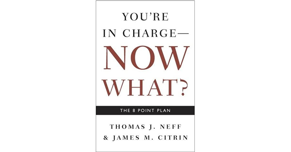 You're in Charge, Now What?: The 8 Point Plan by Thomas J