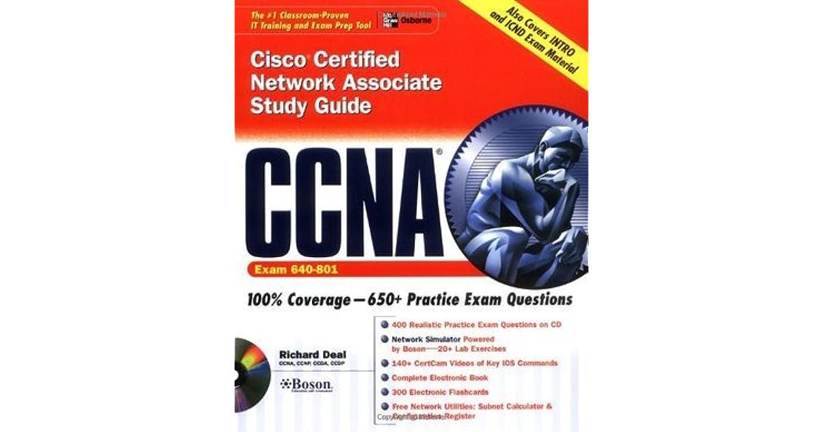 CCNA Cisco Certified Network Associate Study Guide by Richard A Deal