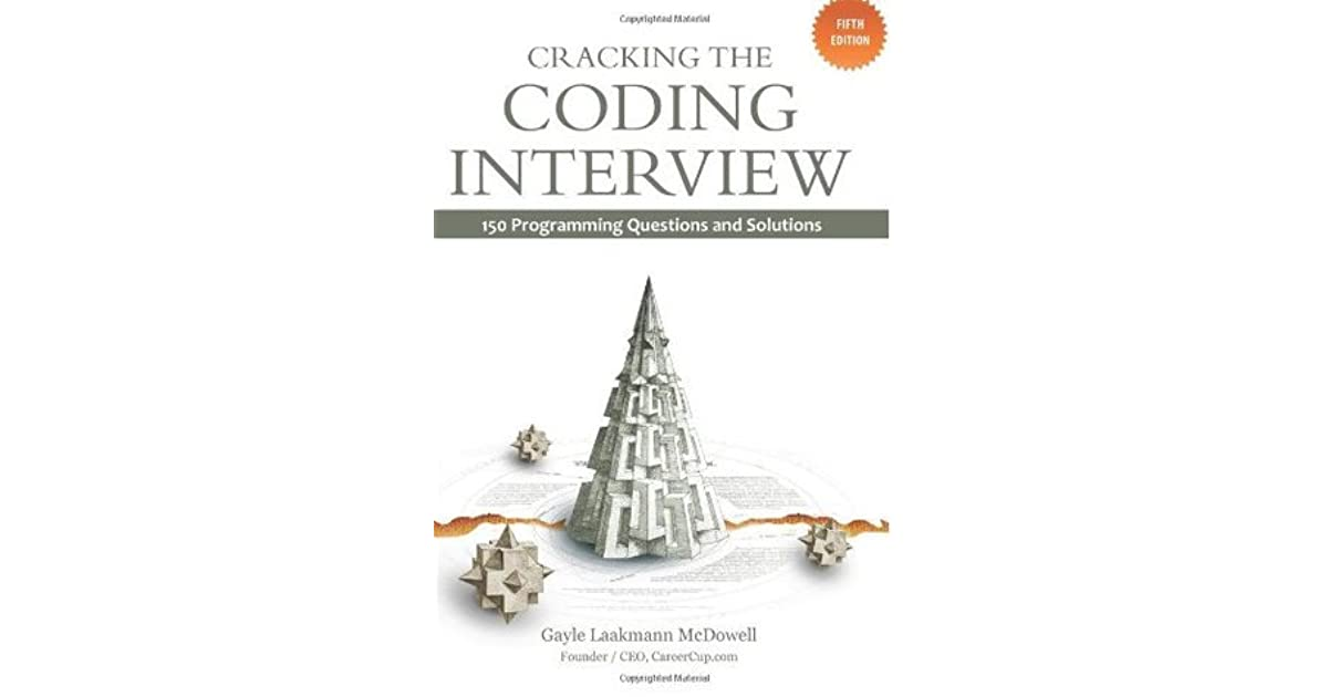 Cracking the Coding Interview: 150 Programming Questions