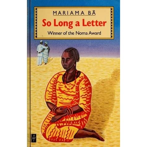 So Long a Letter by Mariama B  Reviews Discussion Bookclubs Lists