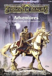 Forgotten Realms: Adventures (Advanced Dungeons & Dragons, Stock #2106)