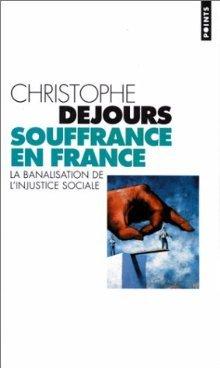 Christophe Dejours Souffrance Au Travail : christophe, dejours, souffrance, travail, Souffrance, France, Christophe, Dejours