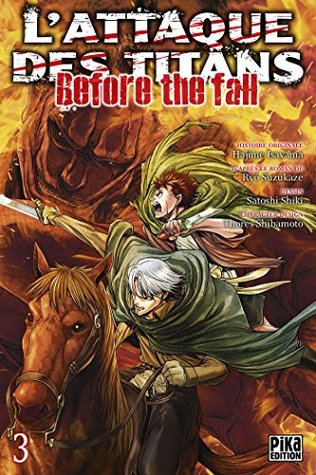 Attaque Des Titans Before The Fall : attaque, titans, before, L'Attaque, Titans, Before, Hajime, Isayama