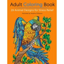 Book Giveaway Adult Coloring 29 Animal Design