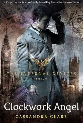 Clockwork Angel book cover