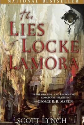 The Lies of Locke Lamora book cover