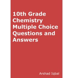 10th Grade Chemistry MCQs: Multiple Choice Questions and Answers by Arshad  Iqbal [ 2400 x 2400 Pixel ]
