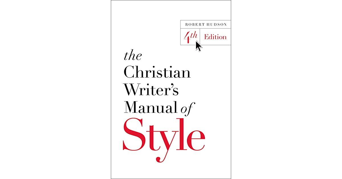 John Kight's review of The Christian Writer's Manual of