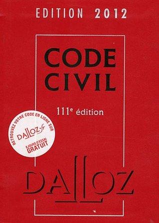 Droit Civil 2012 : Coffret 2 Volumes : Code Civil 2012, Lexique Des Termes  Juridiques By Dalloz-Sirey