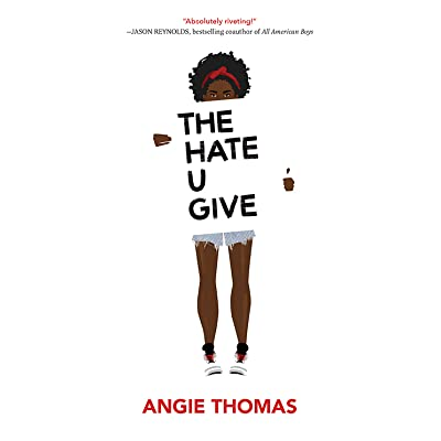 Image result for The Hate You Give by Angie Thomas