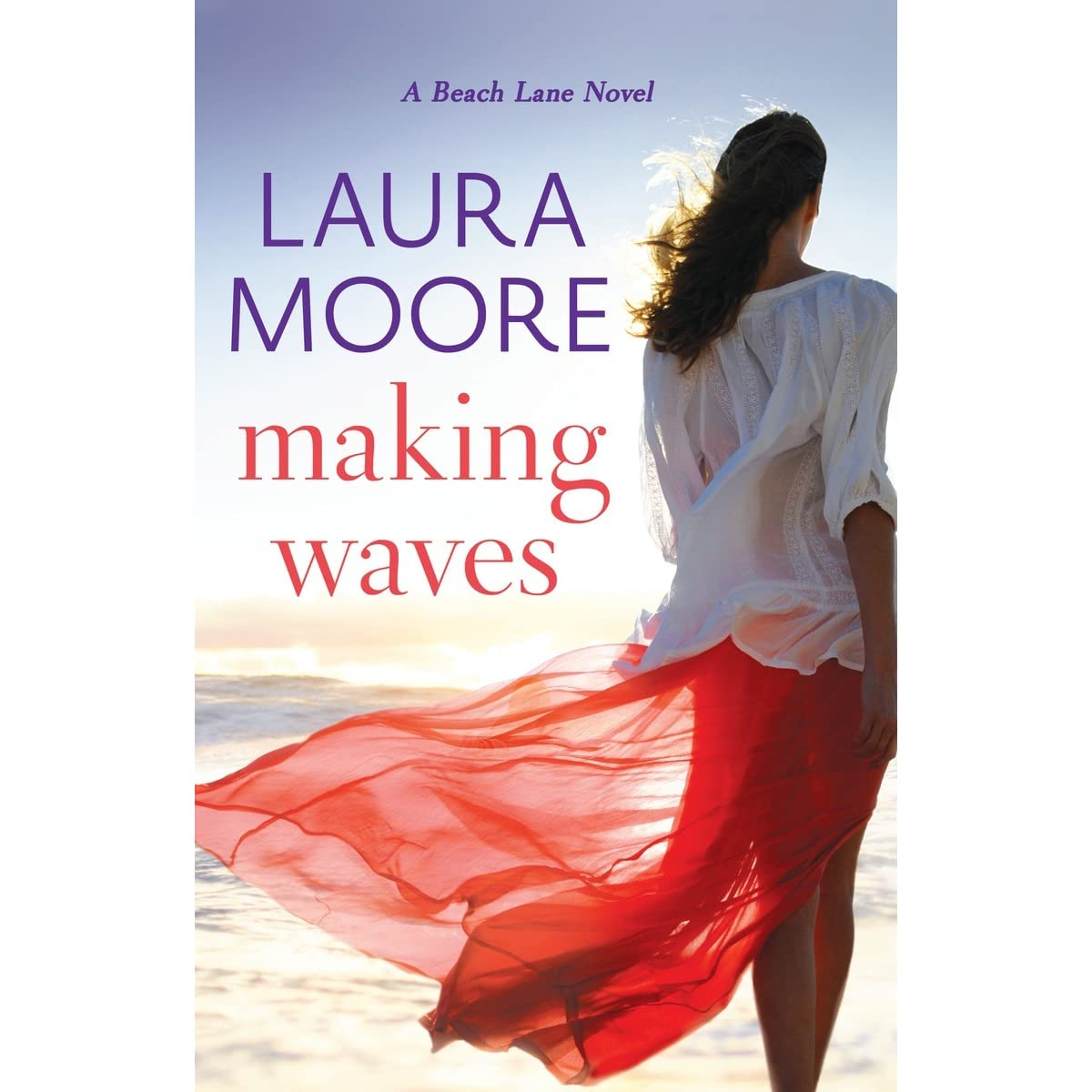 Making Waves Beach Lane #1 By Laura Moore