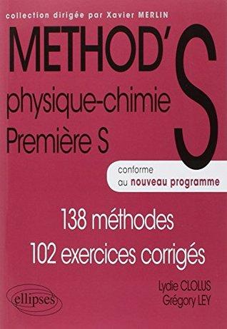 Exercice Physique Chimie 1ere S : exercice, physique, chimie, Method's, Physique-chimie, Méthodes,, Exercices, Corrigés, Grégory