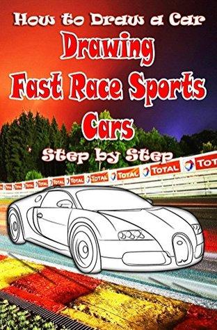 How To Draw A Race Car : Drawing, Sports, Step:, Ferrari,Buggati,, Aston, Martin, Beginners, Water, Studios
