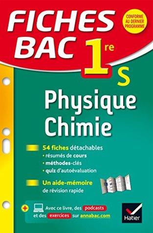 Exercice Physique Chimie 1ere S : exercice, physique, chimie, Fiches, Physique-Chimie, Révision, Première, Valérie, Teixeira-Castex