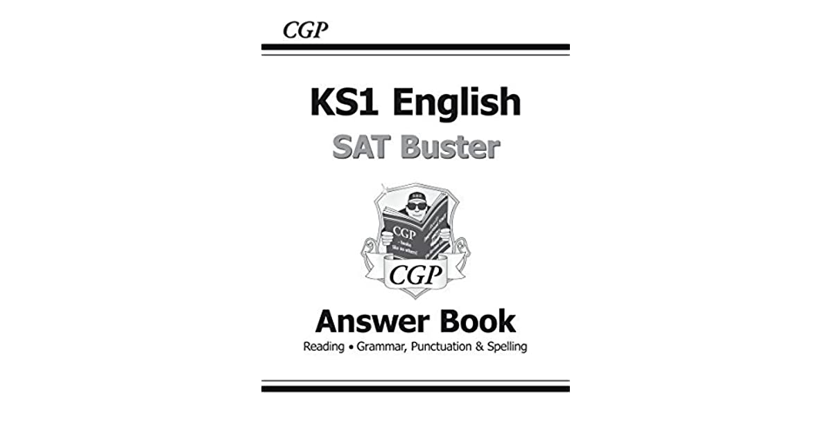 New KS1 English SAT Buster: Answer Book by CGP Books
