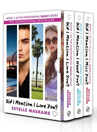 Did I Mention I Love You : mention, Mention, Trilogy:, Phenomenal, DIMILY, Series, Estelle, Maskame