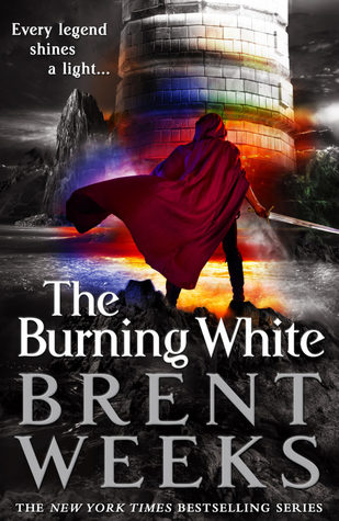 The Burning White Book Cover