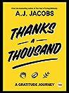 Thanks A Thousand by A.J. Jacobs