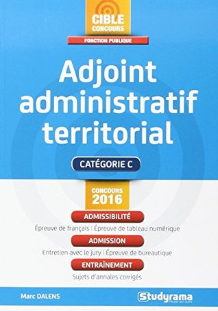 Adjoint Administratif Territorial By Marc Dalens