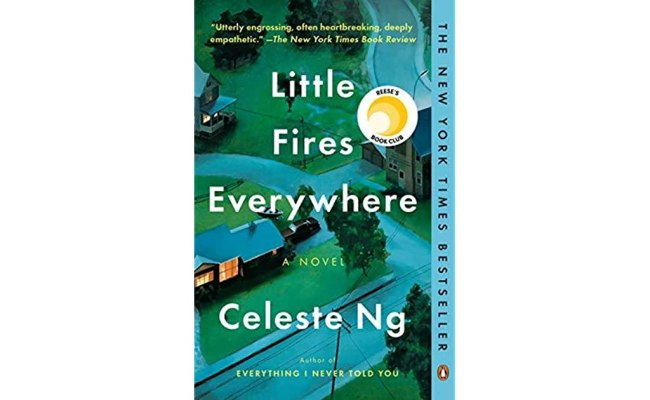 Book Giveaway For Little Fires Everywhere By Celeste Ng
