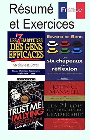Les Sept Habitudes Des Gens Efficaces : habitudes, efficaces, Résumé, Exercices:, Habitudes, Efficaces, Steven, Covey,, Chapeaux