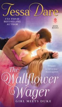 The Wallflower Wager cover