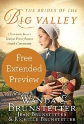 The Brides of the Big Valley (FREE PREVIEW): 3 Romances from a Unique Pennsylvania Amish Community