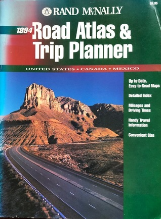 Rand Mcnally Trip Planner : mcnally, planner, McNally, Atlas, Planner, 1994:, United, States,, Canada,, Mexico, Company
