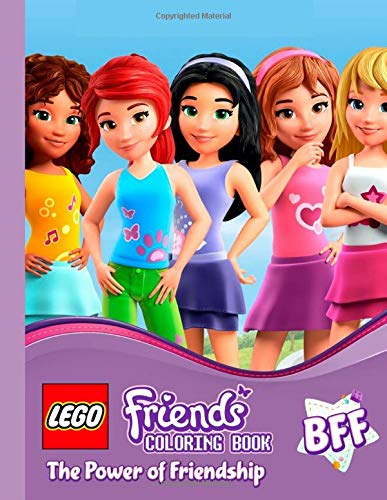 Lego Friends The Power Of Friendship Coloring Pages For Kids Ages 3 8 By Hola Warhola
