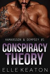 Cover. Conspiracy Theory by Elle Keaton.